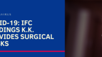 COVID-19: IFC holdings K.K. provides surgical masks